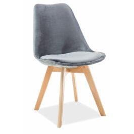 Krzesło Dior buk Velvet