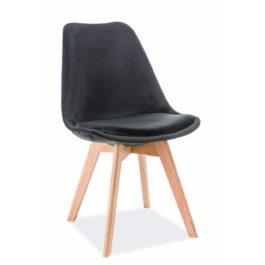 Krzesło Dior dąb Velvet